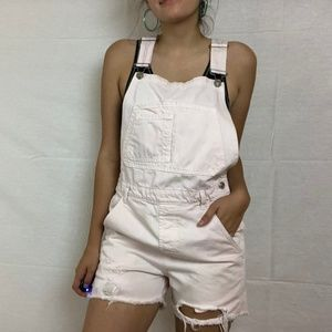 Light Pink Topshop Shortalls